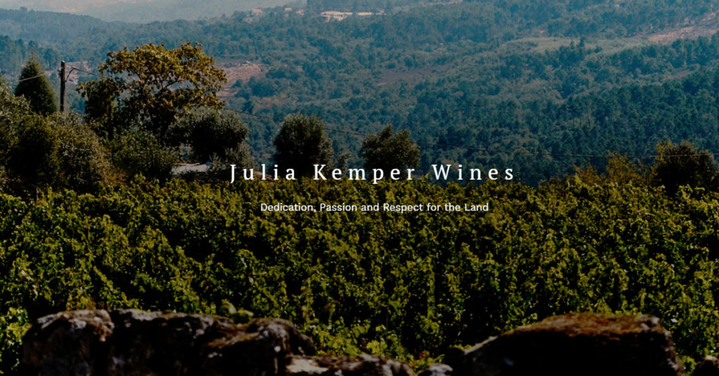 Julia Kemper Wines Website